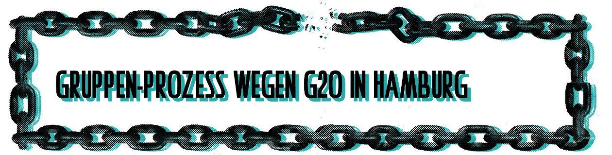Prozess gegen Lucy, Lieke und Paul wegen G20